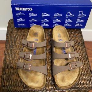 Birkenstock Florida mocca sandals